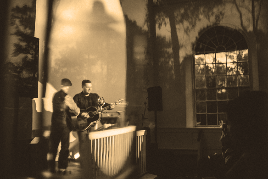 Finnegan Bell performs at STAC House